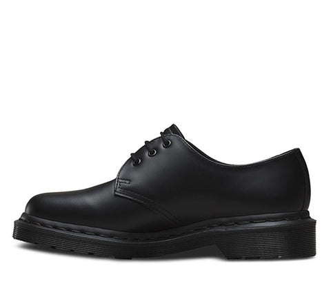 Dr Martens 1461 Mono Black 3 Eye Smooth Leather (14345001)