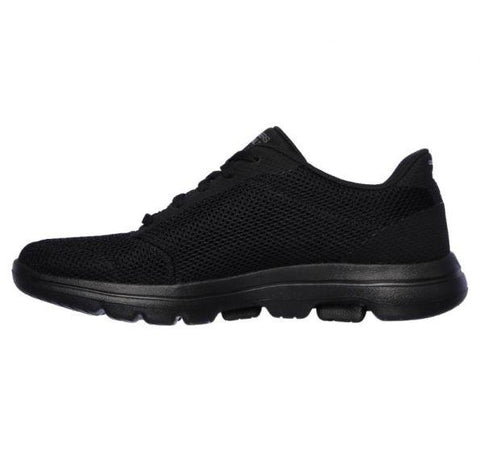 #Skechers GO WALK 5 Lucky Black - (15902-BBK) - LU - R2L16