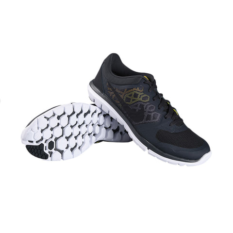 *Nike Flex 2015 Rn Msl Black/Yellow - (724933-019) - V9 - R1L3