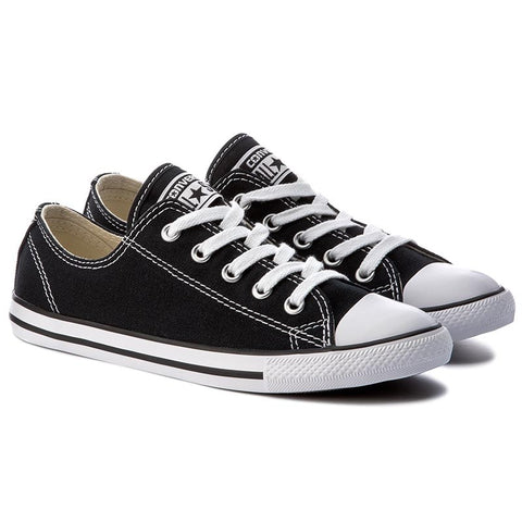 *CONVERSE CHUCK TAYLOR ALL STAR DAINTY LOW TOP BLACK (530054C) - LX - R1L8