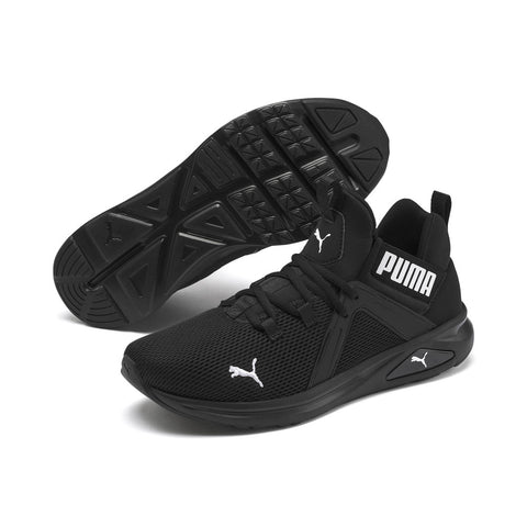 *PUMA Enzo 2 Mens - Black / White (193249-01) - ZO - R2L12
