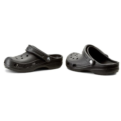 *Crocs Unisex Original Classic Clogs Black - (10001 001) - F
