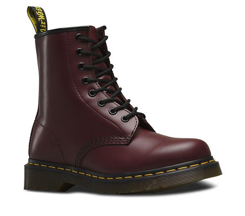 Dr Martens 1460 Cherry Red 8 Eyes Smooth Leather
