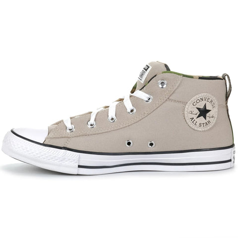 *Converse Ct Street Canvas And Suede Papyrus/White/Black (166976C) - PY - R1L7