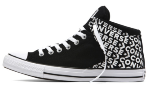 *Chuck Taylor All Star Mens Black/White (163954C) - WAL - R1L6