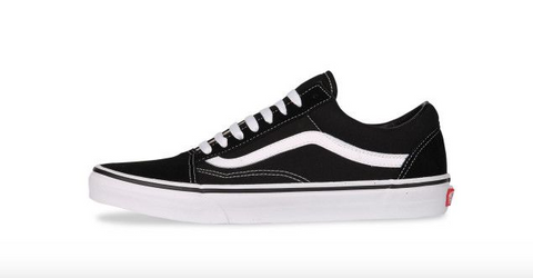 *Vans Old Skool Black/White (VN000D3HY28) - OK - R1L5