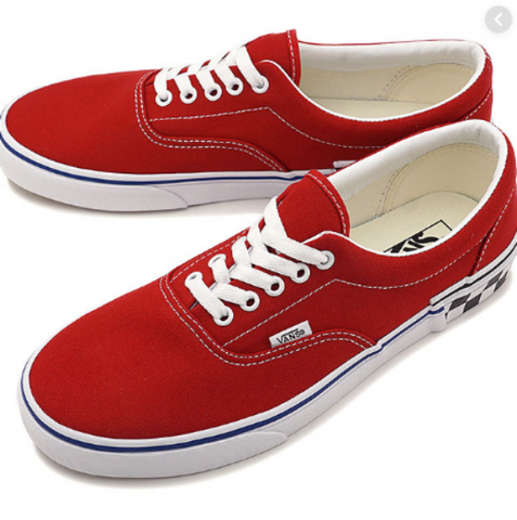 *Vans Era Tango Red Check Block (VN0A38FRV0R) - REA - R1L5