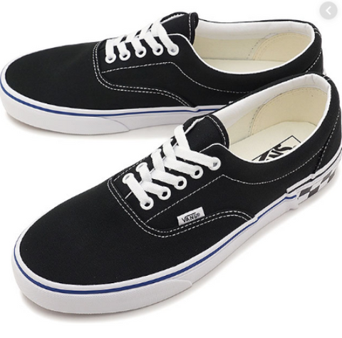 *Vans Era Black Check Block (VN0A38FRV0Q) - ERA - R1L5