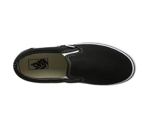 *Vans Classic Slip-on Black White (VN000EYEBLK) - SL - R1L6