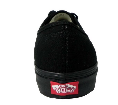 *Vans AUTHENTIC Black Sneakers (VN000EE3BKA) - B - R1L6