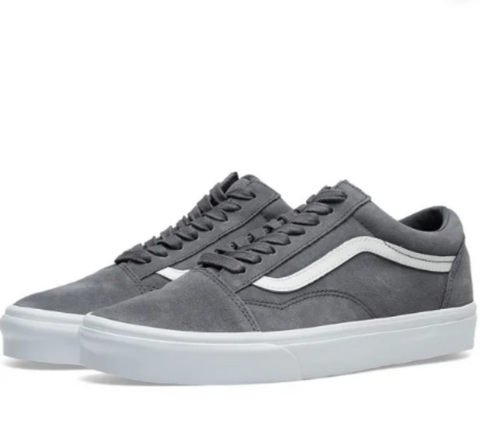 *Vans Old Skool Grey Sneakers (VN0A38G1VKE) - GRY - R1L6 - L/P