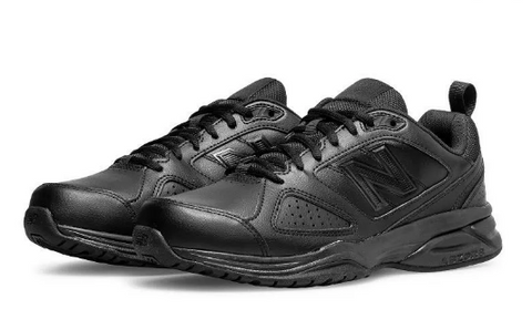 #New Balance Extra Wide Black Trainer (MX624AB4)- BLK - R2L18