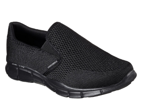 Skechers Mens EQUALIZER - DOUBLE PLAY - (SN51509-BBK) - DOC - R2L16