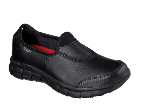 SKECHERS WORK: RELAXED FIT - (SN76536-BBK) - EH - R2L16