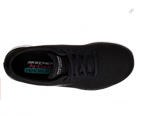 Skechers Womens Flex Appeal 2.0 - (12775/BLK) - SM - R2L16