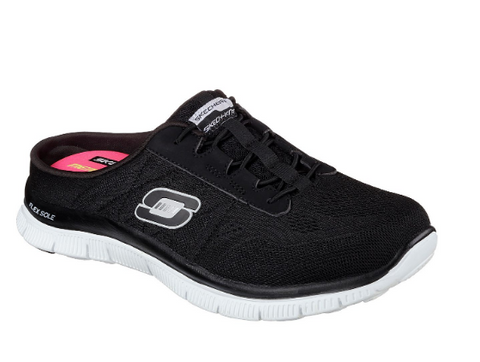 Skechers FLEX APPEAL WONDERFUL LIFE - (SN12068/BKW) - CF - R2L16