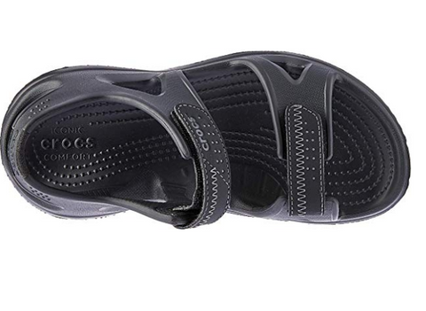 #Crocs Swiftwater River Sandals Black- (203965 060) - F