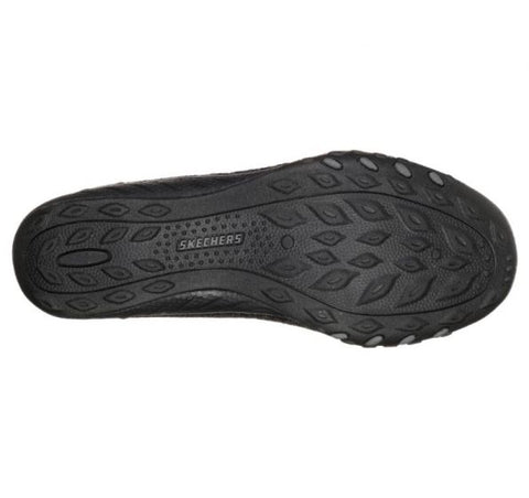 #Skechers Relaxed Fit: Breathe Easy Cozy Feel - (23239/BLK) - EF - R2L16