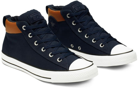 *CHUCK TAYLOR STREET MID SPACE EXPLORER BLUE (165390C) - NA - R1L6