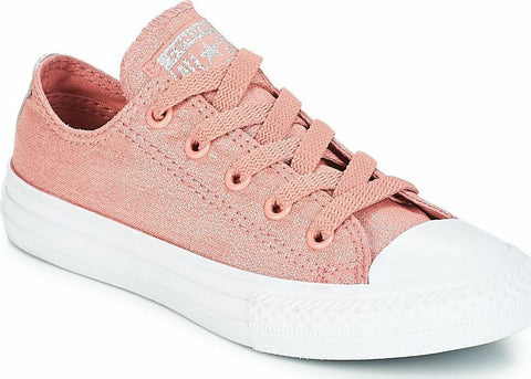 *Chuck Taylor All Star Kids Canvas Rust Pink - (661834C) - RST - R1L1 - L/P