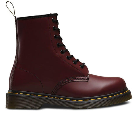 Dr Martens 1460 Cherry Red 8 Eye Smooth Leather
