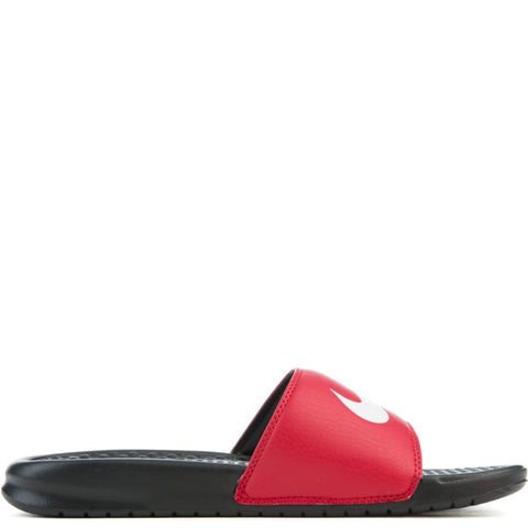 *Nike Benassi Red/White Scuffs / Slides (312618-006) - R - R2L15