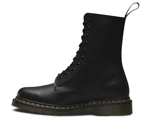 Dr Martens 1490 Black 10 Eyes Smooth Leather