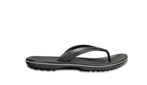 #Crocs Crocband Flip Relaxed Fit Black - (11033 001) - F