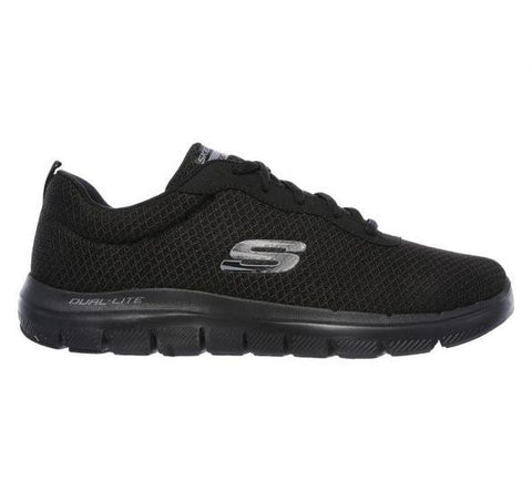 #Skechers Mens Flex Advantage 2.0 Dayshow - (52125/BBK) - TK5 - R2L16 - L/P