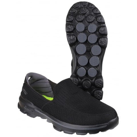 #Skechers Mens GoWalk 3 Fit Knit Slip On - (53980/BBK) - IN - R2L16