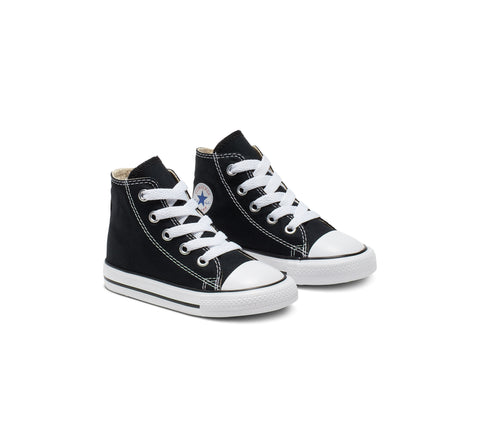 Converse Toddler CT All Star Hi Top - (7J231) - BLK/WHT - R1L1