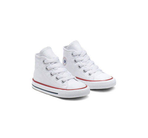 #Converse CT Toddler Hi Top Wht/Red (7J253) - WHT HI - R1L1
