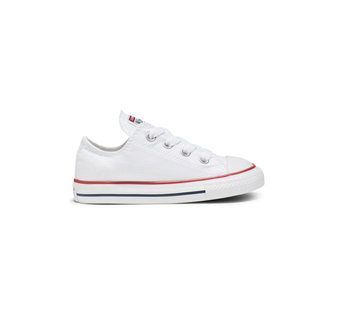 *Converse CT Toddler Lo Cut Wht/Red (7J256) - WHT Lo - R1L1