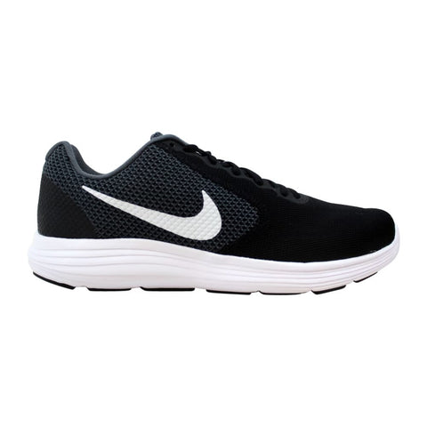 #Nike Revolution 3 Womens Dark Grey/White - (819303 001) - W5 - R1L2