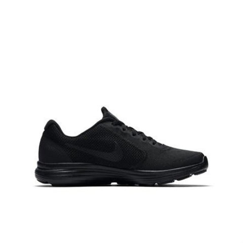 #Nike Revolution 3 (GS) Black/Black- (819413 009) - D16 - R1L2