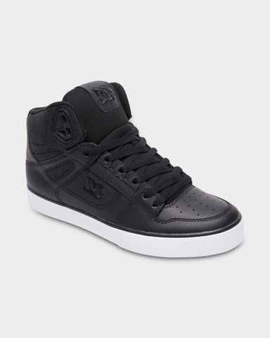 #DC Pure Hi Top WC TX SE Blk/Blk/Wht - (ADYS400046) - PH - R2L11 - L/P