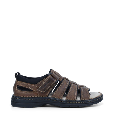 #Hush Puppies Spartan Brown - B - F