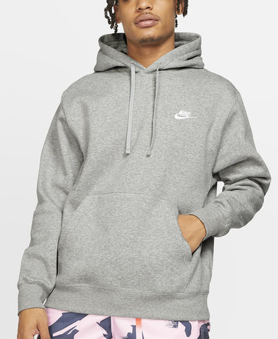 Nike Mens NSW Club Hoodie Pull Over - (BV2654 063) - R1L5