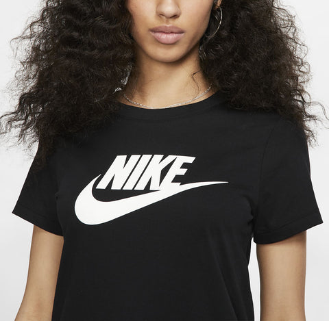 Nike Womens Essential Tee Icon Futura - (BV6169 010)