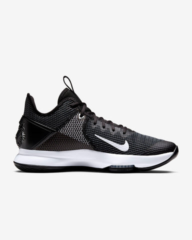 #Lebron Witness IV Black/White - (BV7427-001) - LBV -R1L3