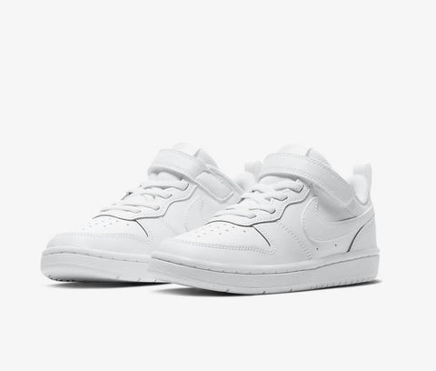 #Nike Kids Court Borough Low 2 White - (BQ5451 100) - CB2 - R1L2