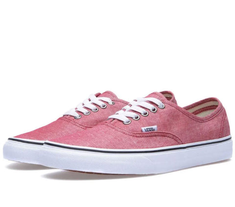 #Vans Unisex Authentic chambra/chillipepper - (VN-0SCQ7IO) - CB - F - L/P