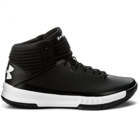 #UA Mens Lockdown 2 Black/White - (1303265 001) - CK - R2L17