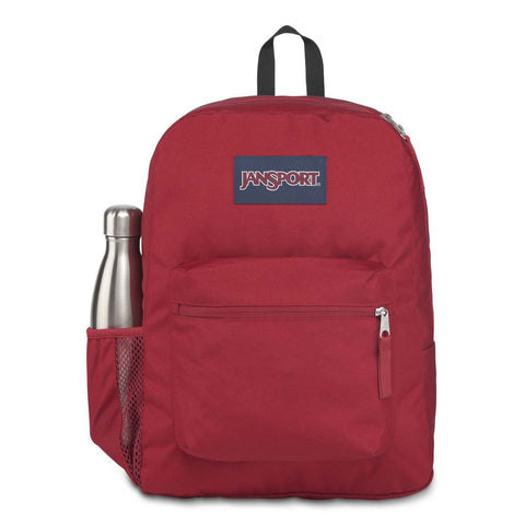 JANSPORT CROSSTOWN BACKPACK Viking Red (Maroon) 26 LITRES - R2L14/F