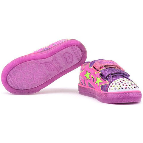 #Skechers Toddler Twinkle Toes Boogie Lights - (10381N/NPPR) - DS - F