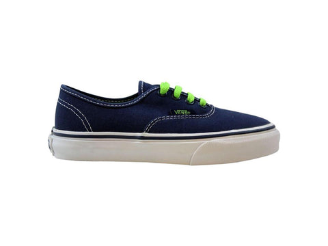 #Vans Kids Authentic Dress Blue/Green - (VN-0WWXDXW) - FB - R1L1