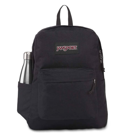 #Jansport Superbreak Backpack 26L Black - (JS0A4QUT008) - R2L14/F