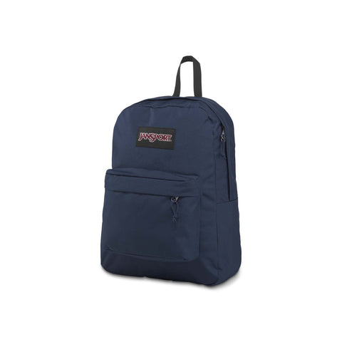 #Jansport Superbreak Plus Backpack Navy 26L - (JS0A4QUE003) - R2L14/F