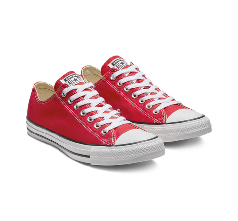 *Converse Chuck Taylor All Star Classic  Red Lo Unisex (M9696C) - R1L7