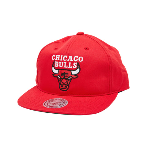 #Mitchell & Ness Adjustable Chicago Bull - (MN NBA NAR393 CHIBUL RED OS) - CBR - F